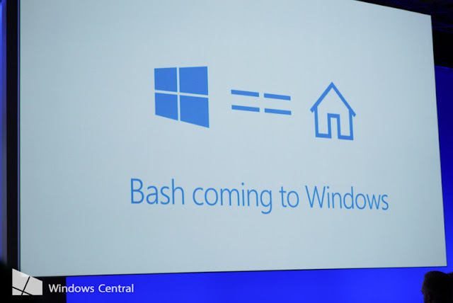 Microsoft And Canonical Partnering To Bring The Bash shell To Windows 10