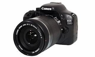 Harga dan Spesifikasi Kamera Digital Canon EOS 550D