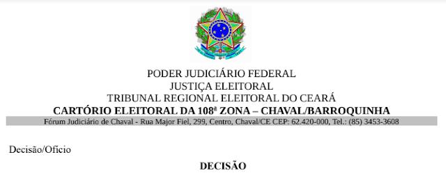 Justiça Eleitoral proíbe carro de som em Chaval e Barroquinha