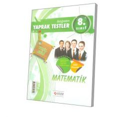 Altın Bilgi SBS 8. Sınıf Matematik Yaprak Test (Yeşil Seri)
