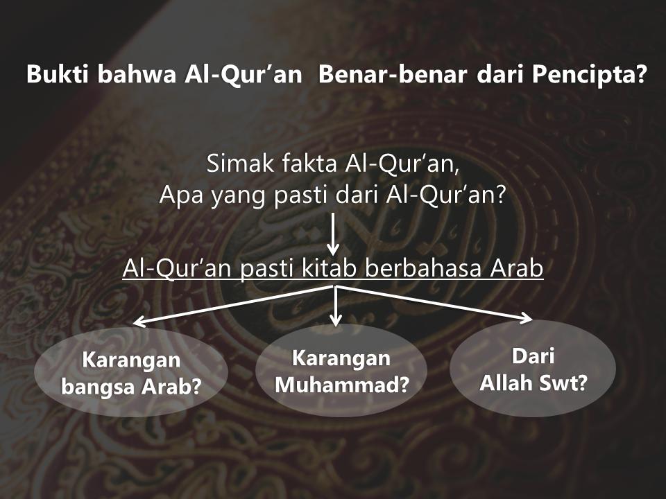 kebenaran al quran yang telah terbukti
