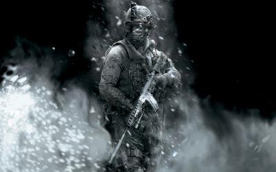 Call of Duty Soldat Fumée - Fond d'Écran en Full HD 1080p