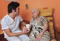 Imagen : Asistencia a las personas mayores en su domicilio