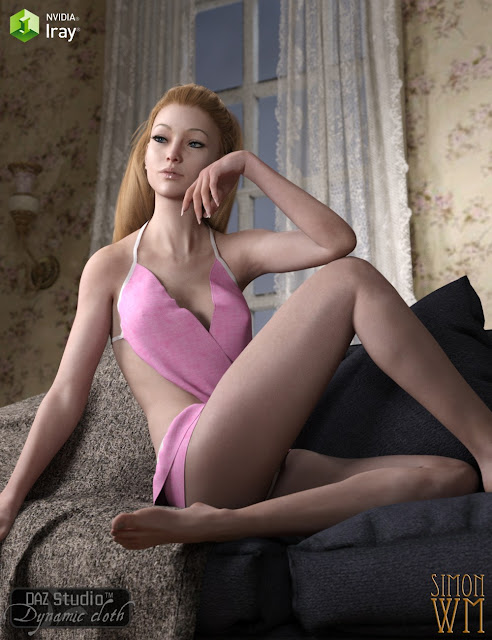 Dynamic Lingerie Collection for Genesis 3 Female Victoria 7