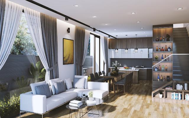 Apartment Free Sketchup Interior Scene
