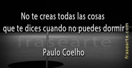 Frases para dormir - Paulo Coelho