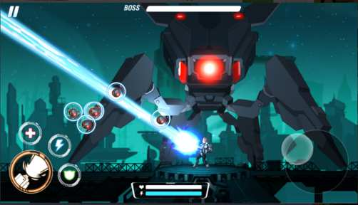 Game Aksi Android Ringan Laser Squad: The Light Apk