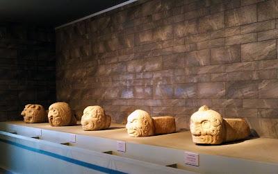 Cabezas clavas Museo Chavin de Huantar