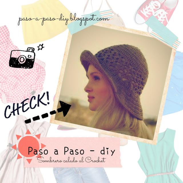 Cómo hacer un sombrero al crochet