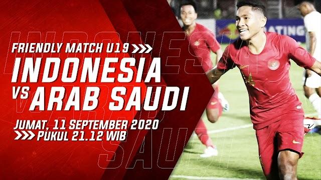 Cara Nonton Pertandingan Timnas Indonesia U-19 vs Arab Saudi di Handphone
