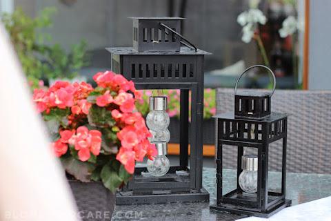 Lampion solarny DIY na taras/balkon - jak zrobić? - czytaj dalej »