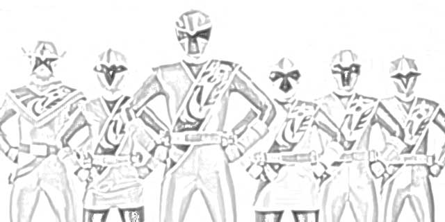 Power Rangers Coloring - Coloringnori - Coloring Pages For Kids