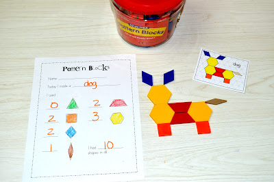 FREE Math Centers for Kindergarten