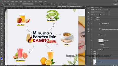 Manipulasi Background dengan photoshop
