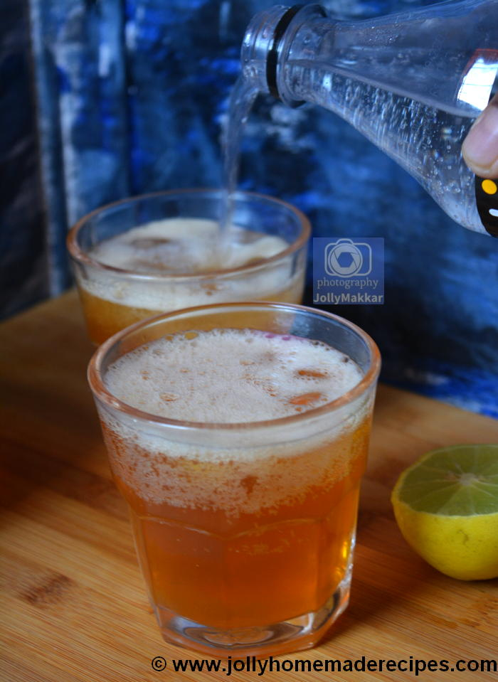 Sparkling Iced Lemon Tea
