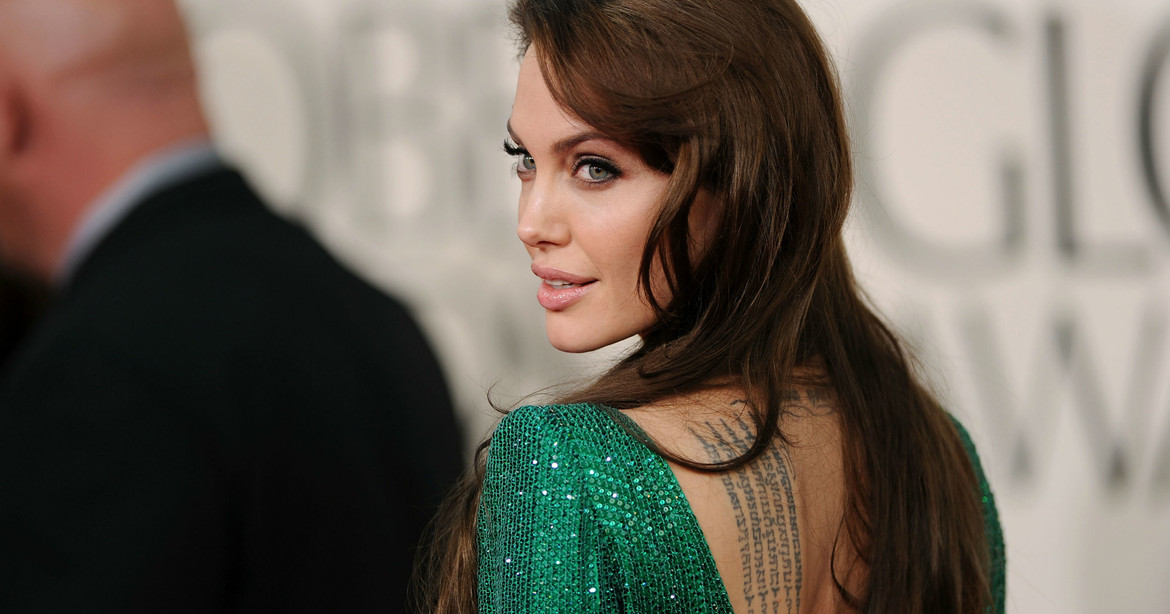 The meaning of Angelina Jolie tattoos - CELEBRITY