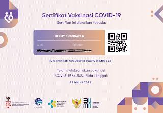 sertifikat vaksinasi covid19