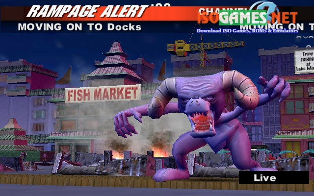 Rampage: total destruction review / preview for playstation 2 (ps2).