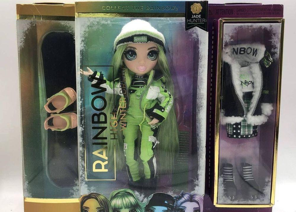Зимняя кукла Rainbow High Winter Break Jade Hunter