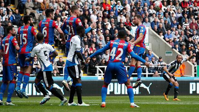 [Video] Cuplikan Gol Newcastle 1-0 Crystal Palace (Liga Inggris)