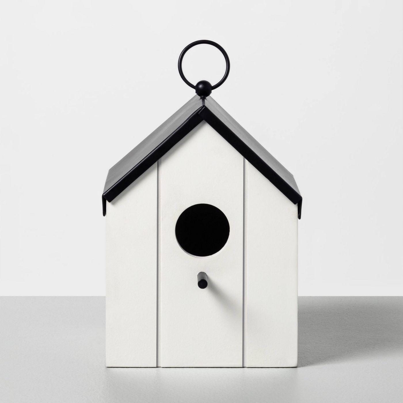 Small house modern bird feeder