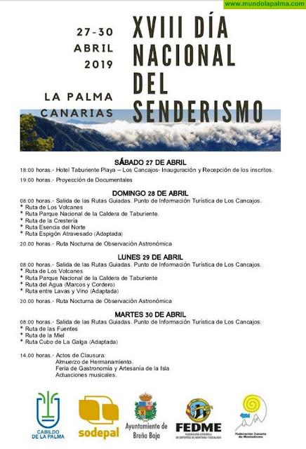 XVIII Día Nacional del Senderismo - La Palma