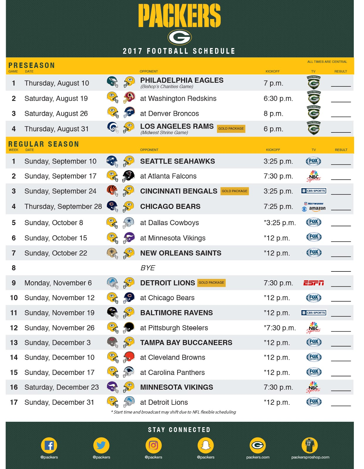 Tactueux image pertaining to printable nfl schedules