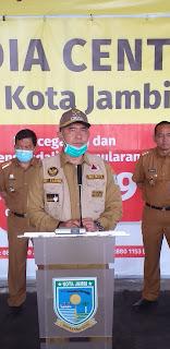Walikota Jambi Menggratiskan Tagihan PDAM Mei Juni Untuk Golongan R1