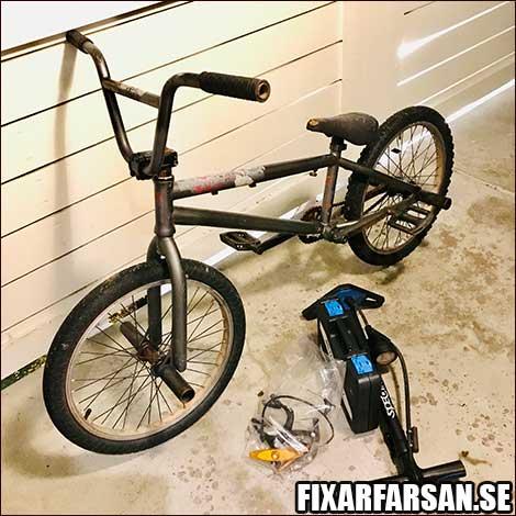 BMX-Utan-Bromsar