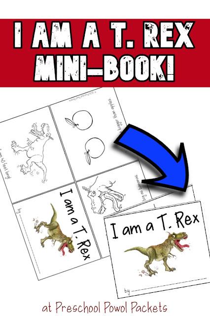 dinosaur minibook