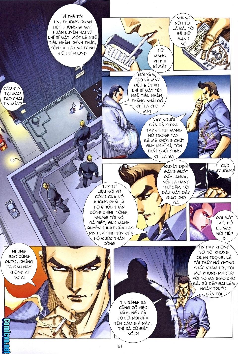 Xích Trụ Phạn Đường chap 25.2 - Trang 9