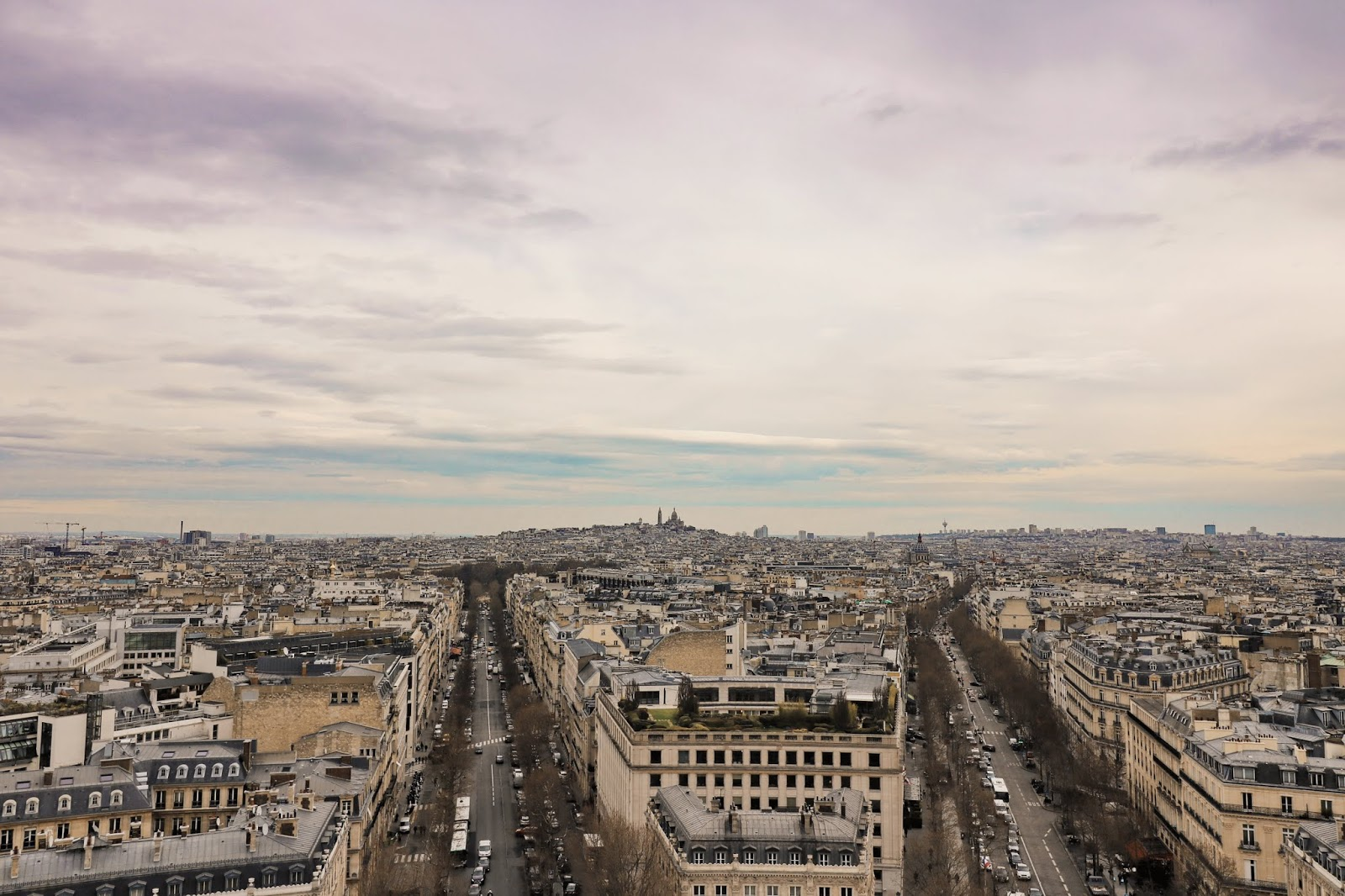 punkty widokowe paryża