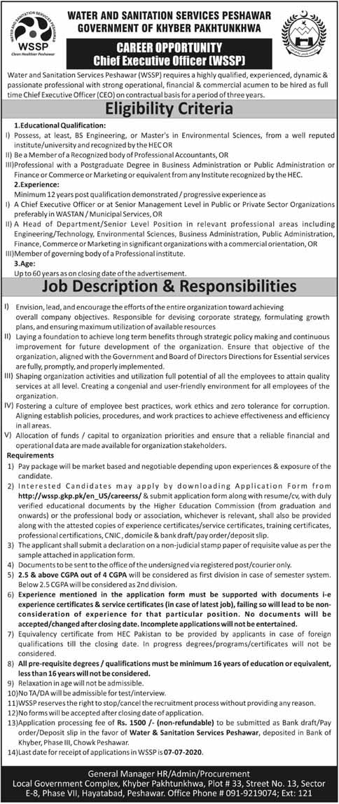 Water & Sanitation Services offered multiple jobs