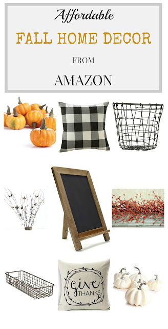 Affordable Fall Home Decor from Amazon