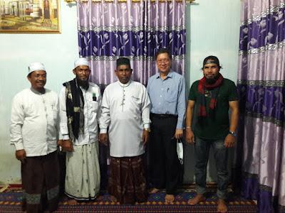 Tarmizi Age dan Rombongan Kunjungi Kantor Pusat Majlis Ta'lim Sirul Mubtadin Aceh