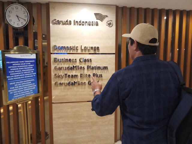 Garuda Executive Lounge Bandara Soekarno Hatta