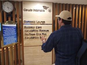 Menunggu Penerbangan di Garuda Executive Lounge Bandara Soekarno Hatta, Gratis!
