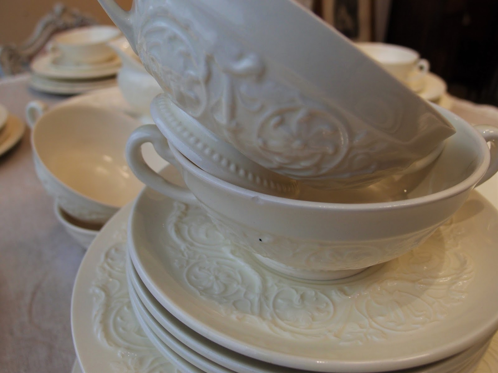 Servizi da tavola antichi porcellane inglesi antiche