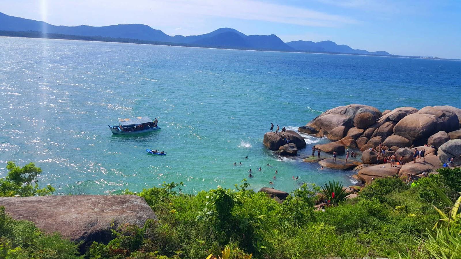 Piscinas Naturais de Barra da Lagoa, Florianópolis.