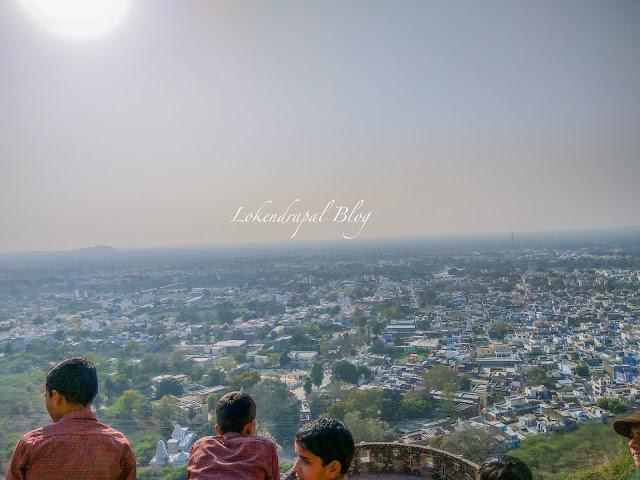 City View, Chittorgarh Fort.
