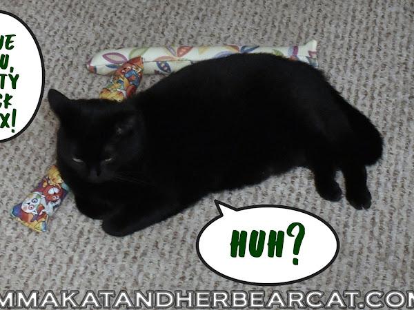 We love Kitty Kick Stix!