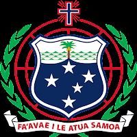 Logo Gambar Lambang Simbol Negara Samoa PNG JPG ukuran 200 px