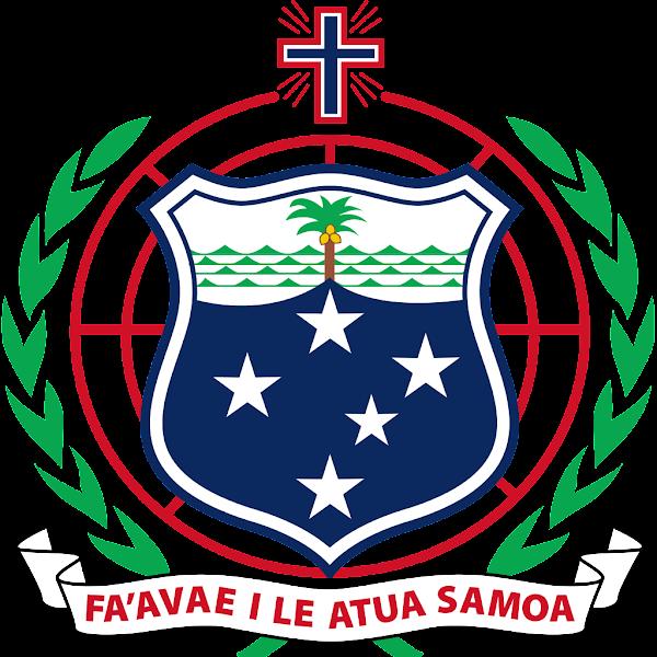 Logo Gambar Lambang Simbol Negara Samoa PNG JPG ukuran 600 px