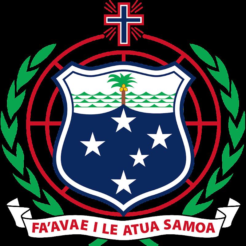 Logo Gambar Lambang Simbol Negara Samoa PNG JPG ukuran 800 px