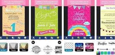 Aplikasi untuk membuat kartu undangan ulang tahun terbaik di Android-1