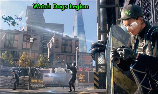 Watch Dogs Legion hacker