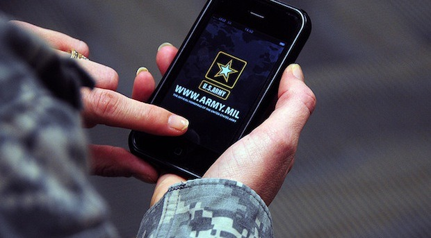 US Military approved iPhones and iPads for military networks