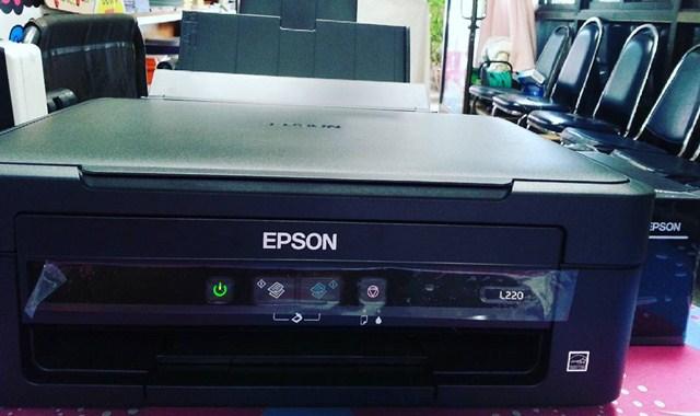 Cara Scan Epson L220