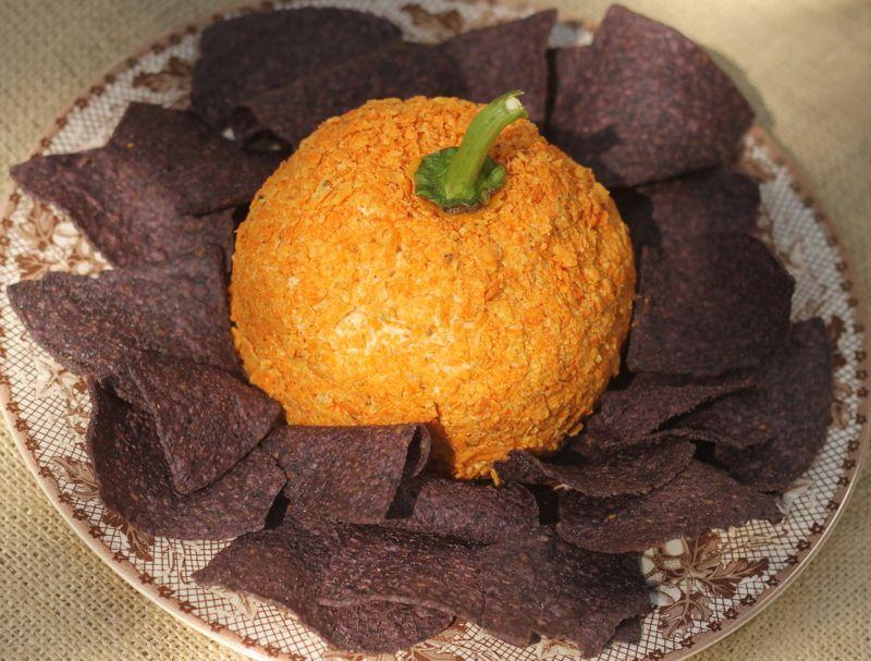 Food Network Pumpkin Cheese Ball