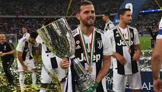 Miralem Pjanic wants Juventus to win this year champions league - Barcelona fans probably won't like it